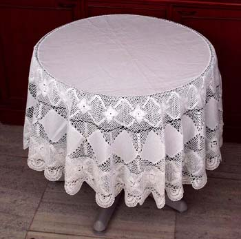 Free Crochet Pattern Tablecloth | FaveCrafts.com
