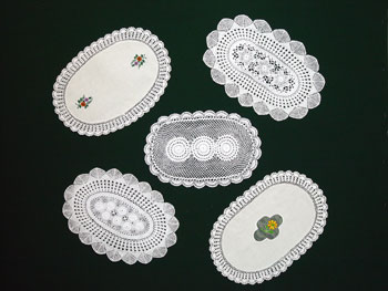 Crochet Oval Placemat - Mobile Resources